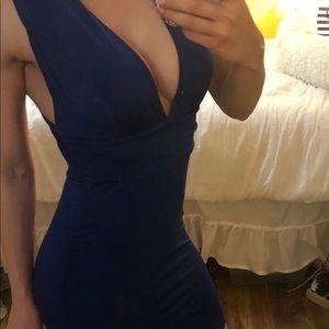 Dresses & Skirts - Sexy blue mini dress